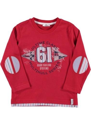 Zeynep Tekstil Sweatshirt Kırmızı